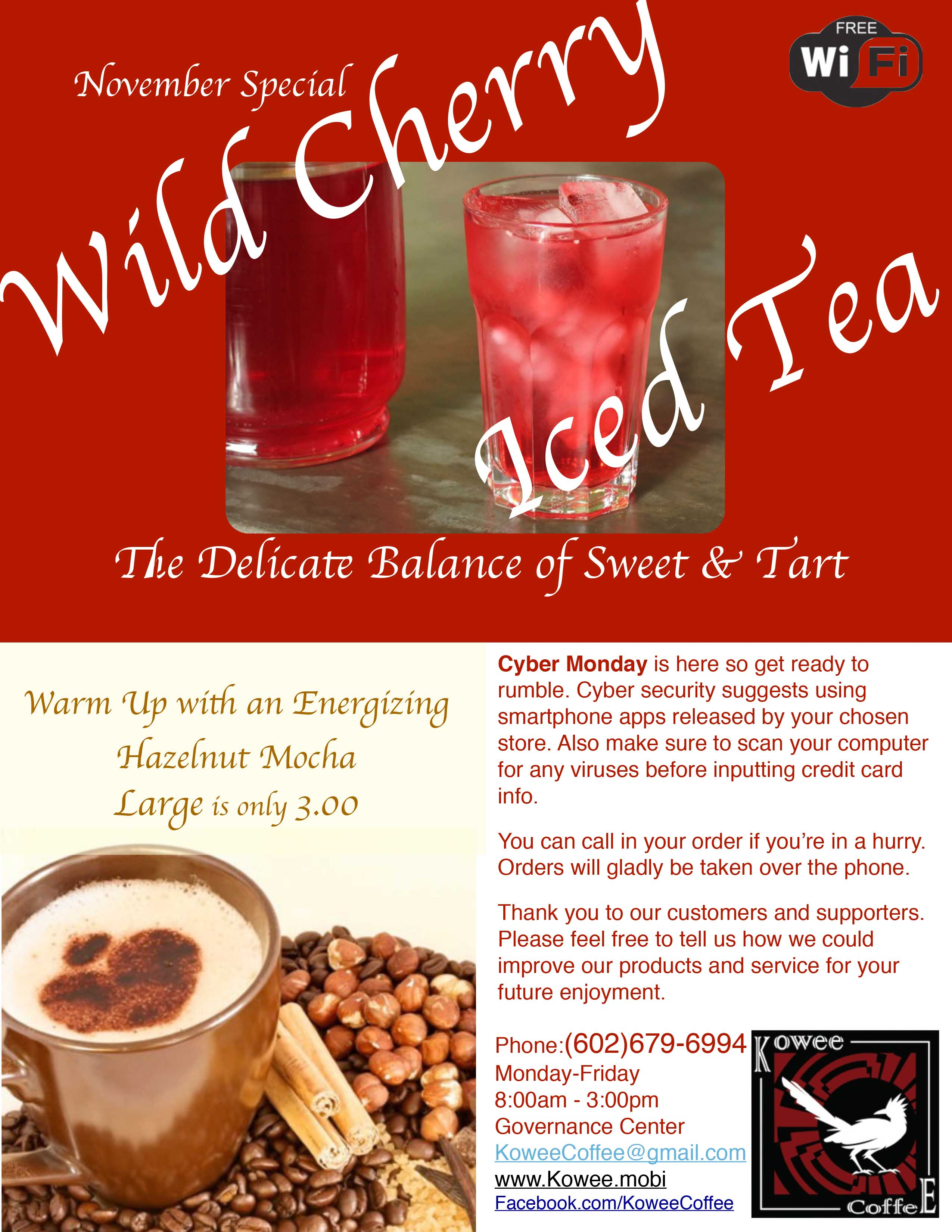 Cherry Iced Tea November 2016