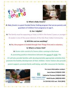 BabySmarts Promotion Flyer 2016