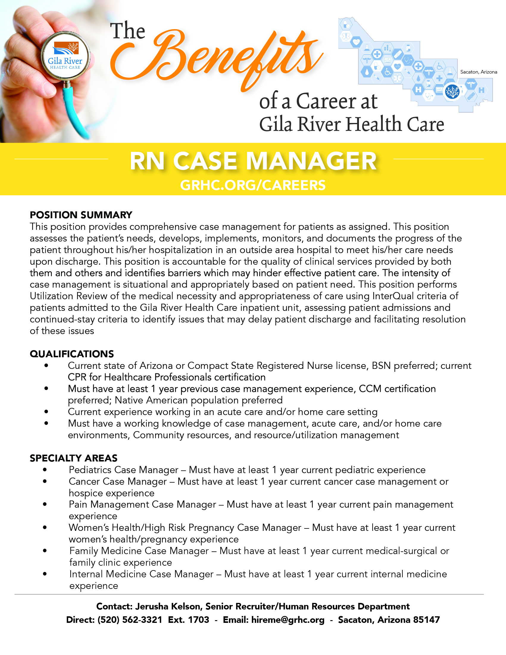 Rn case manager gila river health care rn case manager 1betcityfo Images